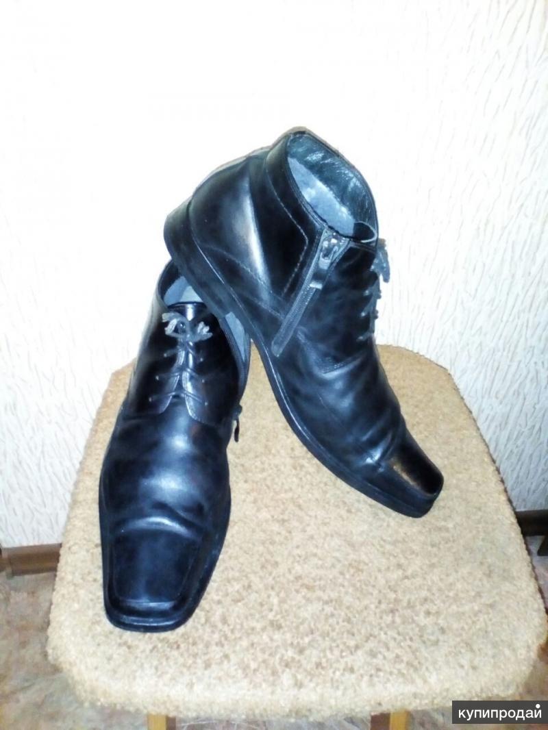 Продаю мужские зимние ботинки.