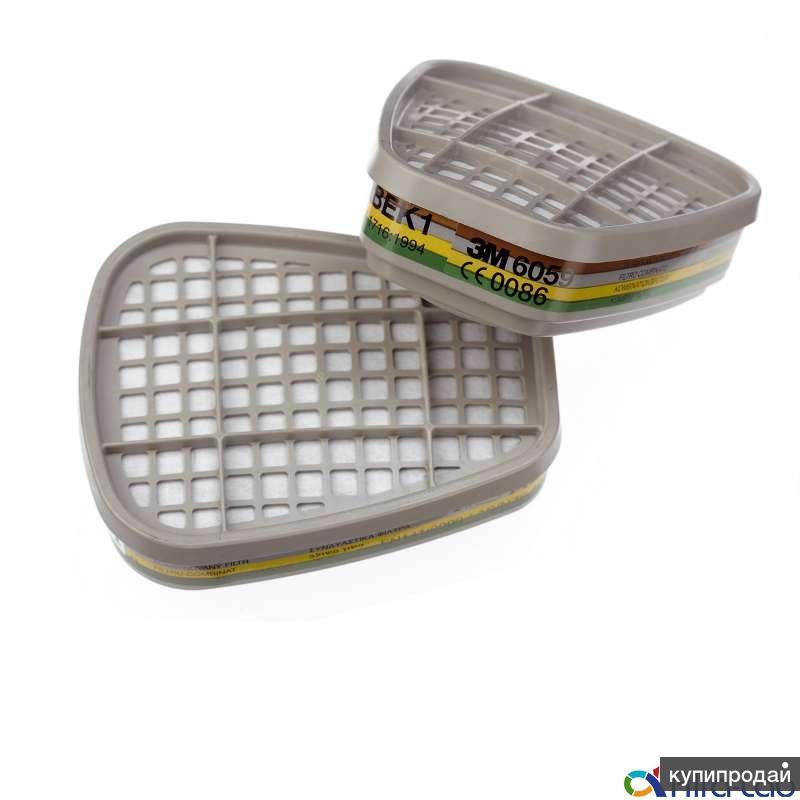 Фильтр 6059 от органических паров, кислых газов и аммиака