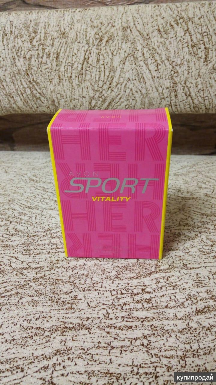 Туалетная вода Sport Vitality Avon