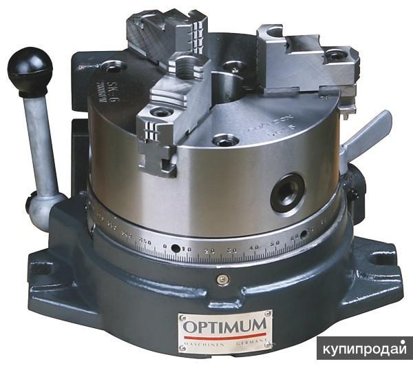 Стол круглый делительный с трехкулачковым патроном OPTIMUM RTE 165