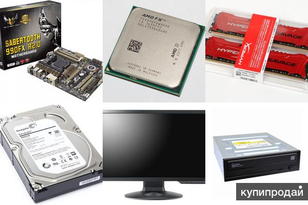Asus Sabertooth R2.0. AMD FX9590. Kingston HyperX 16 Гб. Seagate 3,0Tb