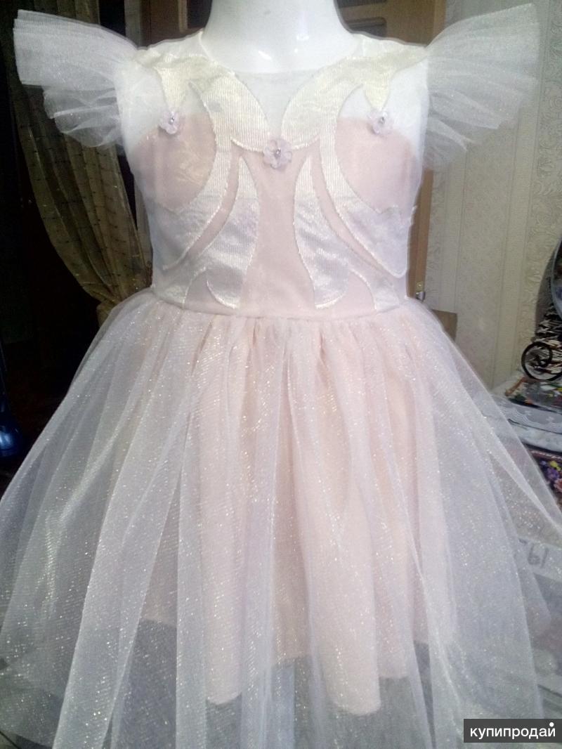 Нарядное платье, р. 86-92, инд.пошив