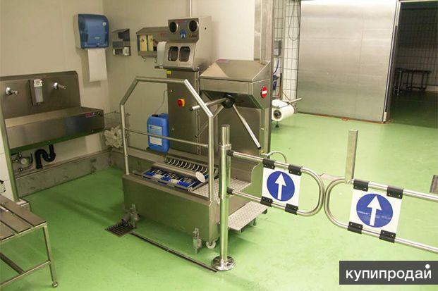 Производство оборудования для гигиены предприятий