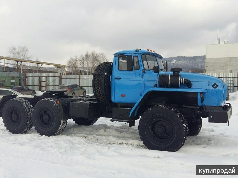 Седельный тягач Урал- 43202