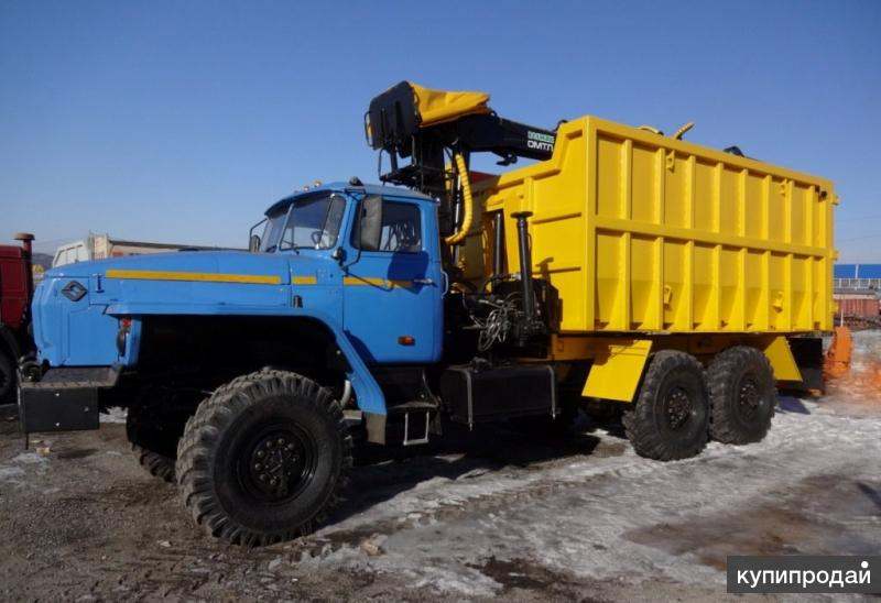 Металловоз Урал-4320 с ГМ