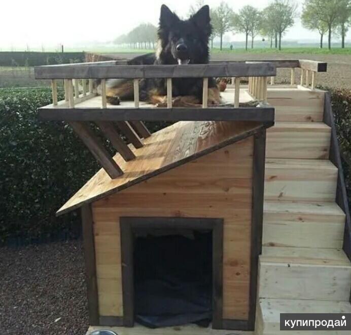 Вольеры и будки для собак!