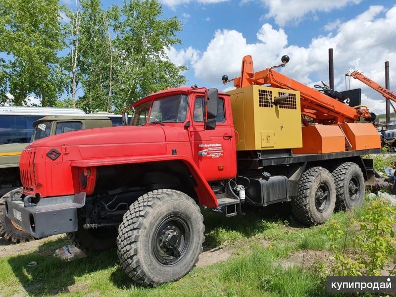 ПБУ-2 с компрессором Урал 4320