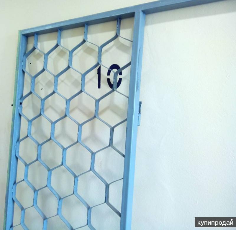 Дверь и перегородка стальная решетчатая