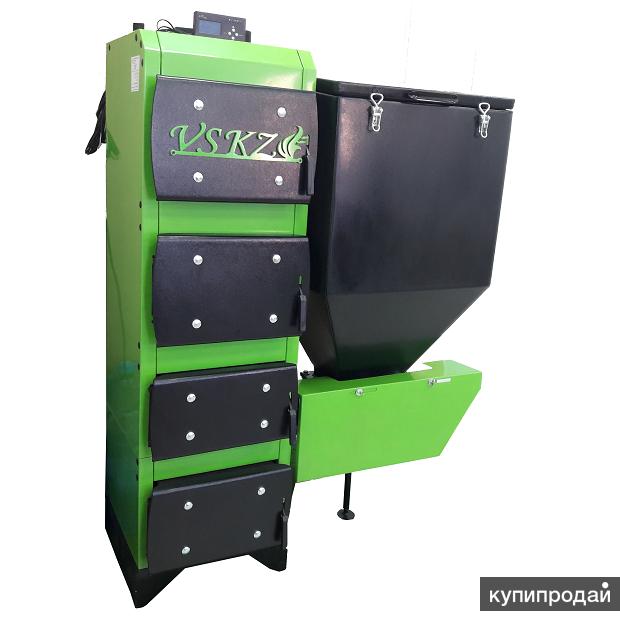 Автоматичекий котел ВСКЗ GREENEKO-LUX 50 кВт, до 500 м2, Омск, в наличии