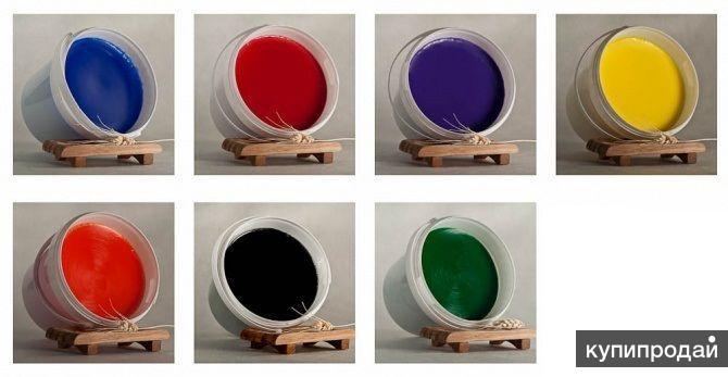 Цветная мыльная основа