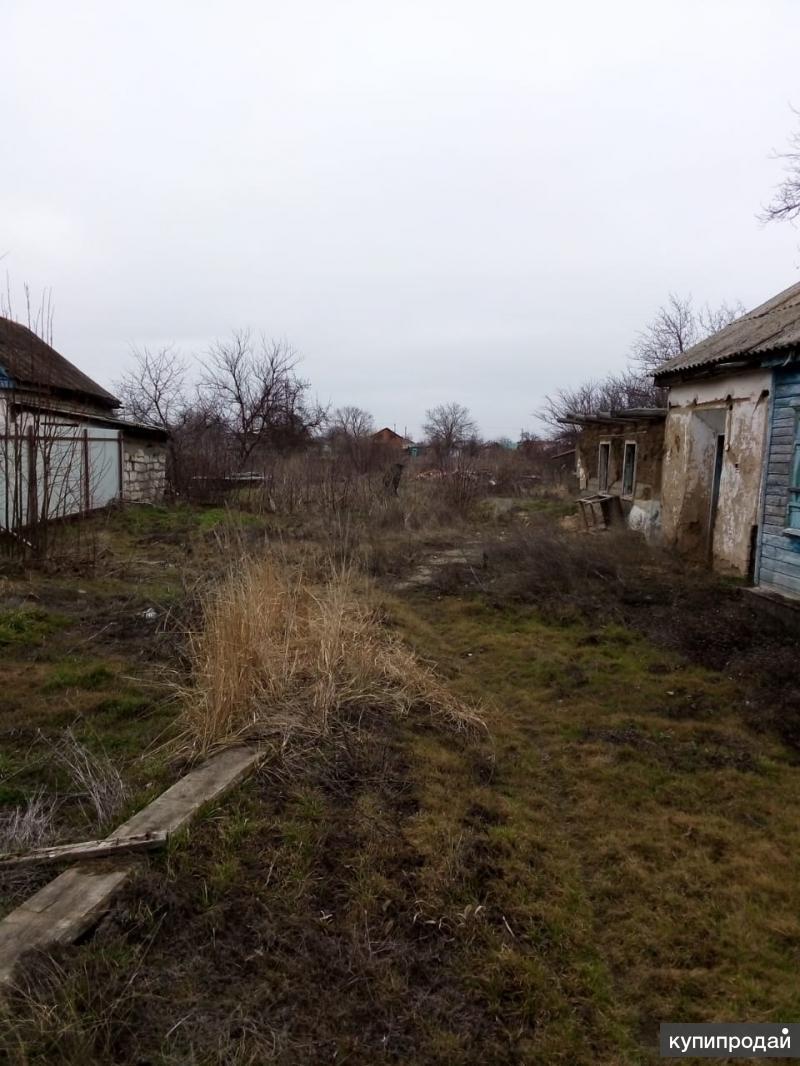 Земельный участок, с домиком