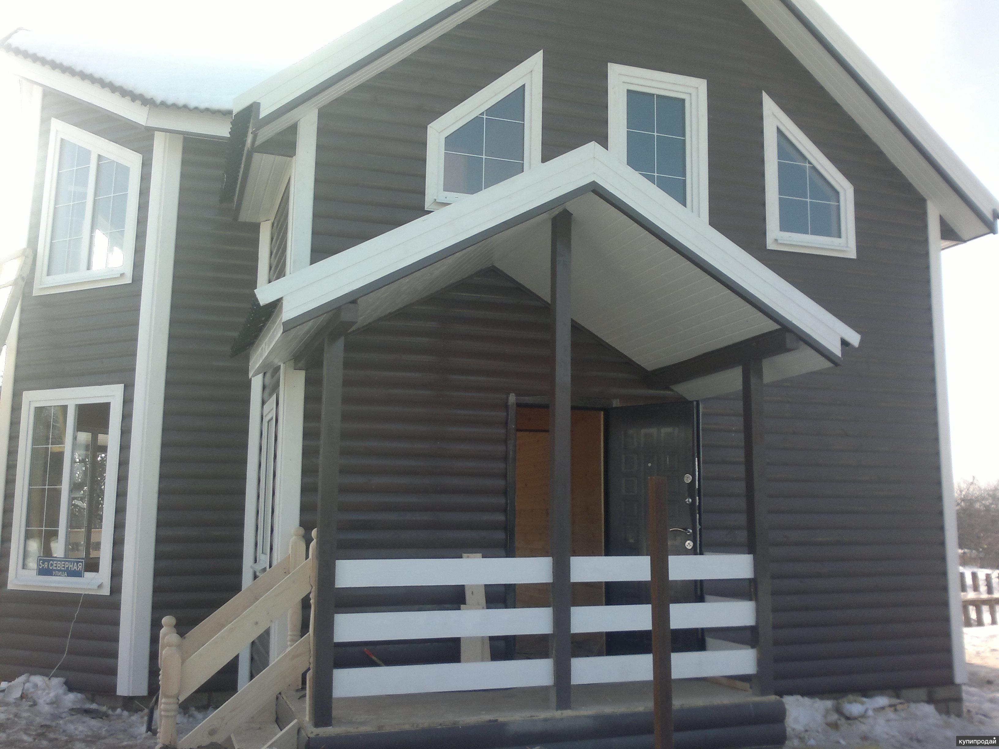 Продам новый теплый дом в д. Коротково