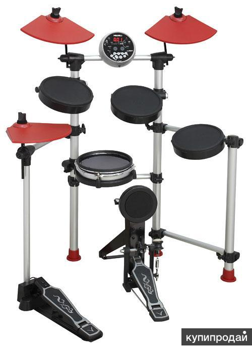Электронная барабанная установка.