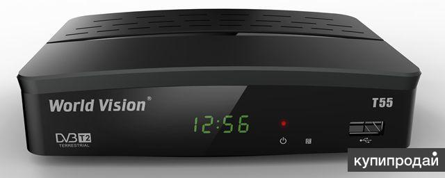 Цифровой эфирный ресивер World Vision T55 DVB-T2