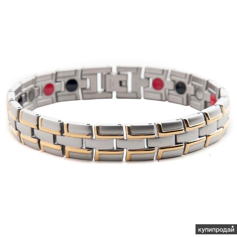 Магнитные браслеты мужские и женские в Омске