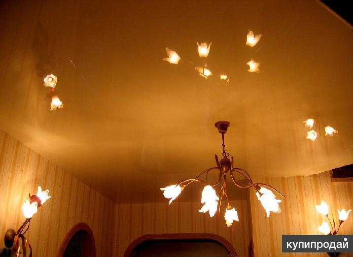 Натяжные потолки в Петербурге