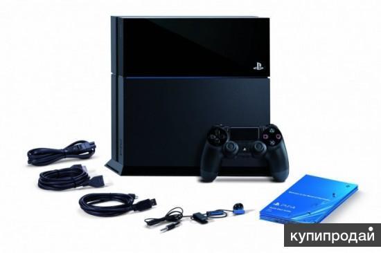 PS4 Sony PlayStation 4 (500 Gb) Black EU