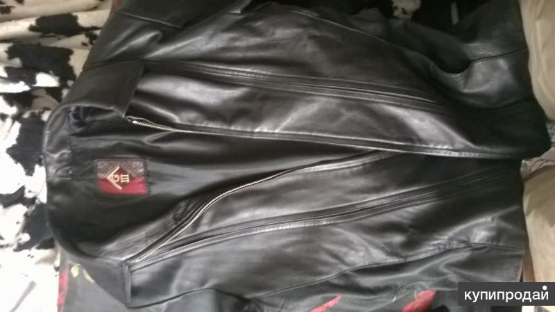 куртка из натуральной кожи размер 44-46