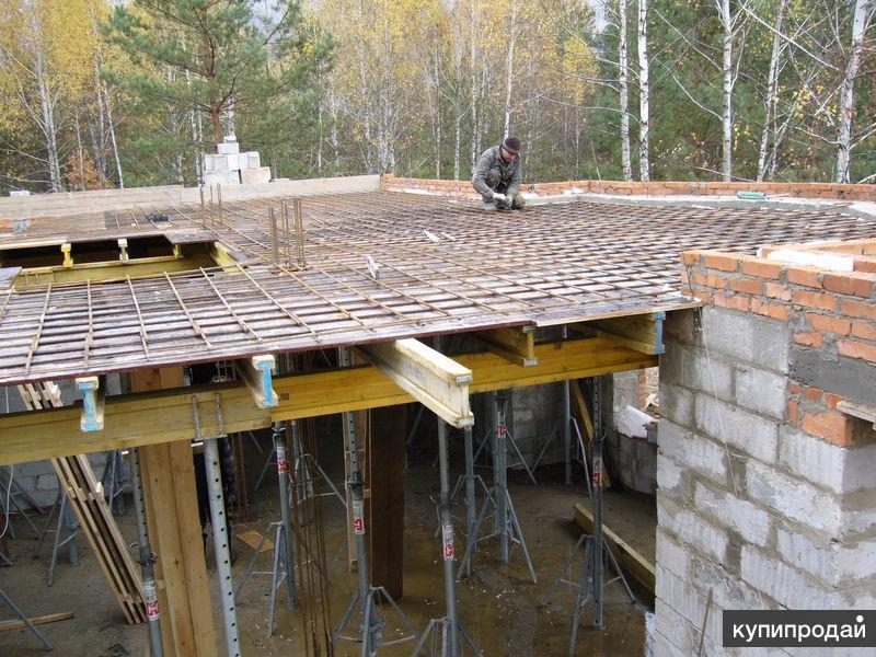 бетонирование перекрытия