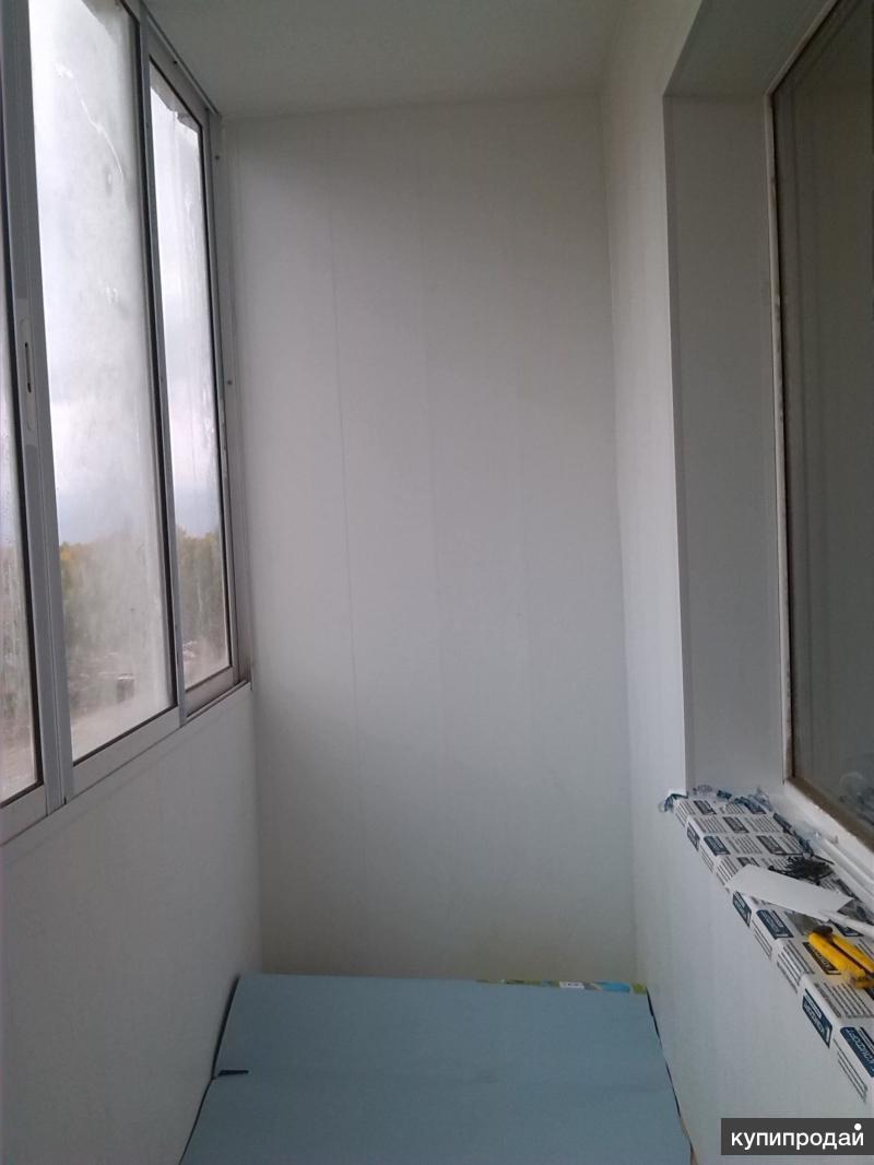 Отделка балконов и лоджий новосибирск.