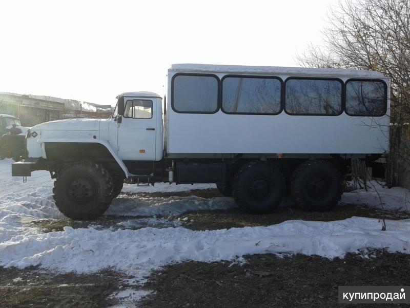 Вахтовый автобус на шасси Урал,2016 г.в.а наличии с птс