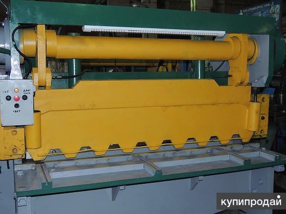 Ножницы гильотинные Н3121 12х2000мм продажа-капитальный ремонт.