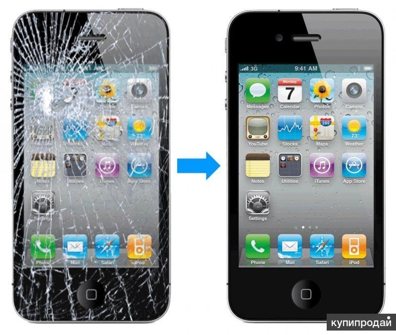 Ремонт замена экрана Apple, Samsung, Sony, Nokia, HTC Lenovo в Хабаровске