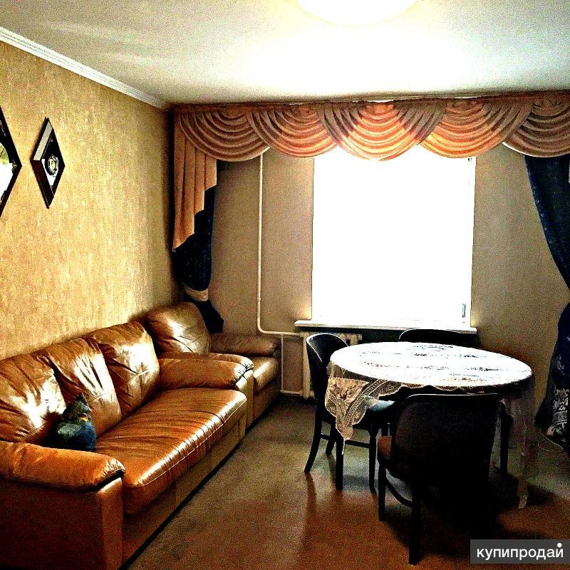 Зхкомнатная в кирпичном доме по спецпроекту с ремонтом и мебелью за 3900тр