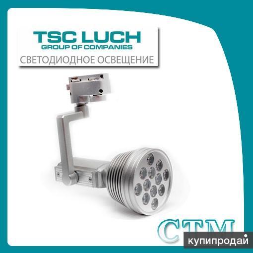 Трековый светодиодный светильник DSO11-2 CTM, Ø100*180