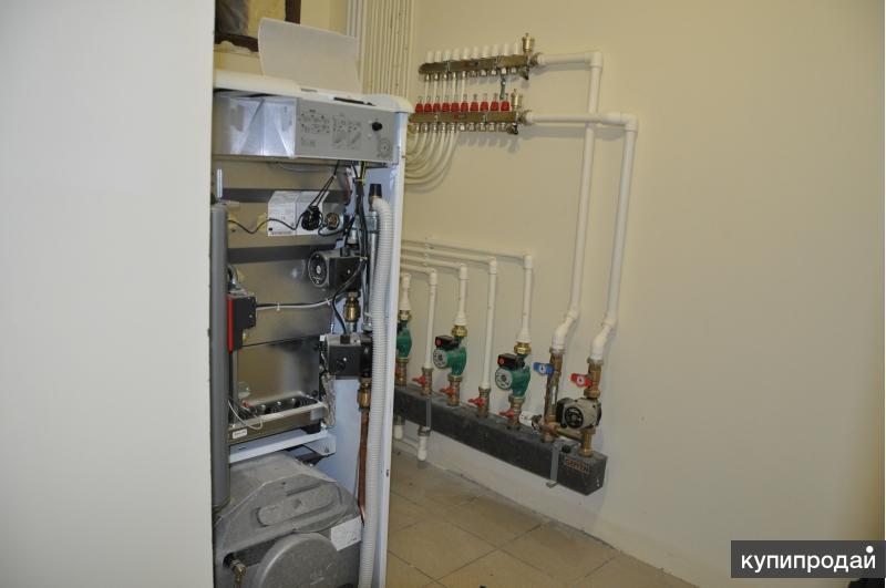 Автономное отопление, квартир, домов, коттеджей.