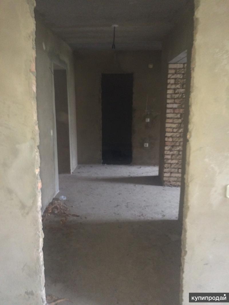 3-ех комнатная черновая
