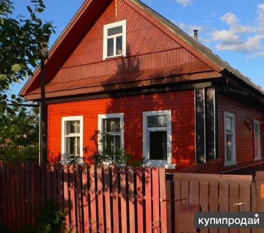 Жилой дом и земельный участок в городе Малая Вишера переулок 5 Дорской