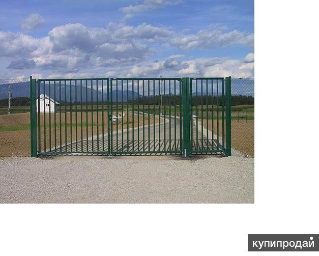 Продаем садовые металлические ворота и калитки от производителя