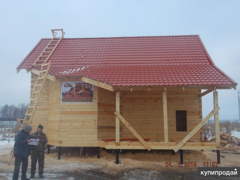 Строим дома, бани, пристройки из бруса