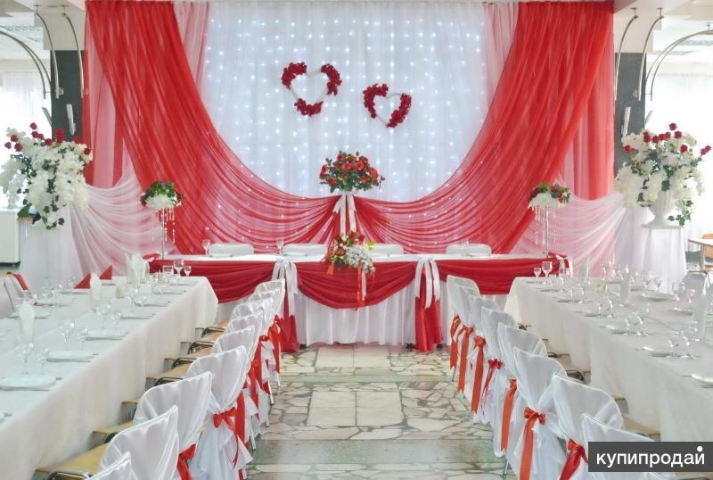 Оформление свадеб, юбилеев, праздников, доставка шаров