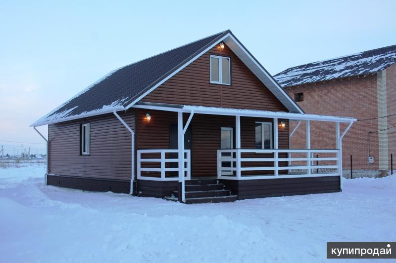 Красивый теплый дом в коттеджном поселке Ребровка. Дом полностью готов к жизни