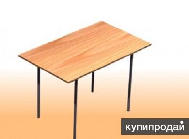 Стол на металлокаркасе. Доставка бесплатная