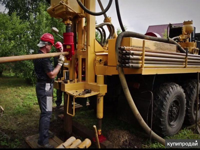 Бурение и обустройство скважин на воду в Краснодаре.