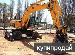 Услуги и аренда колесного экскаватора в Краснодаре
