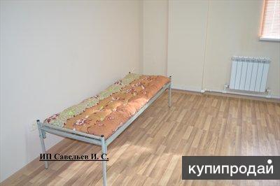 Металлические кровати одноярусные и двухярусные