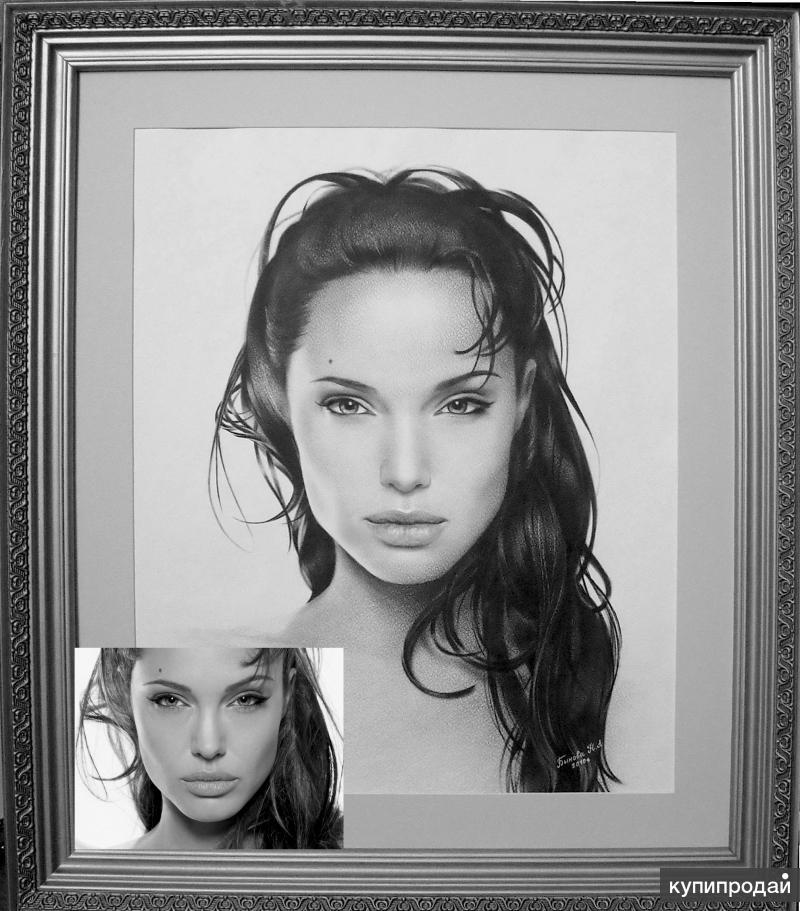 вас из фотографии черно белый рисунок помощи клея карандашного