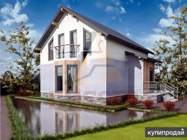 Дом 125 м² на участке 10 сот.