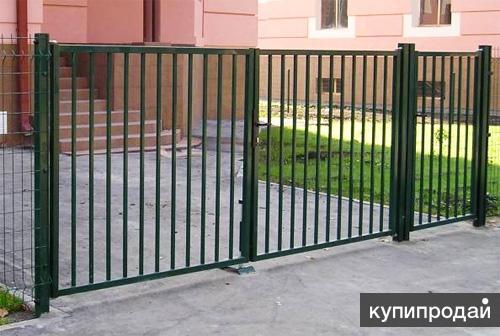 Садовые ворота. Доставка по всей России бесплатная