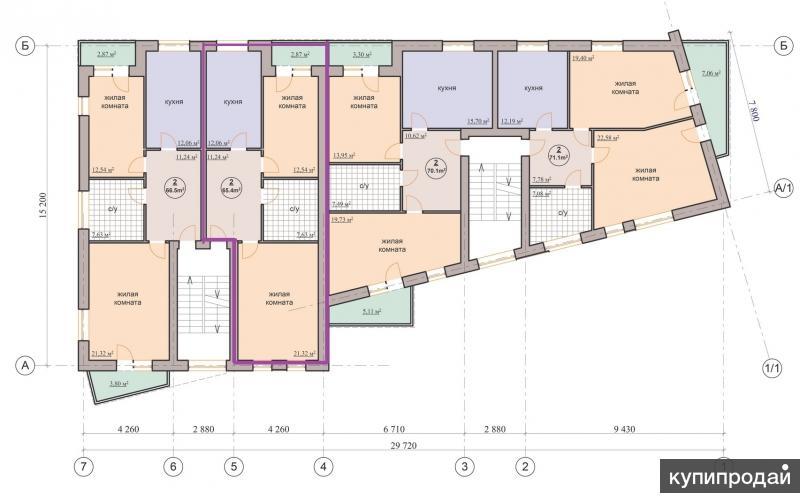 квартиры от застройщика в престижном районе в 10 минутах от центра города