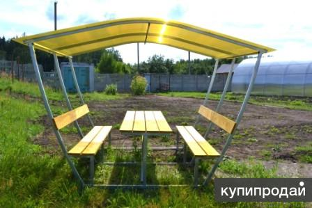 Беседки «АгроМет» Доставка бесплатно по всей России!!!