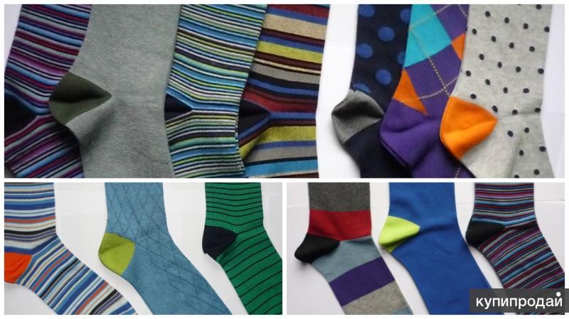 Внимание! Цветные носки made in Italy с фабрики