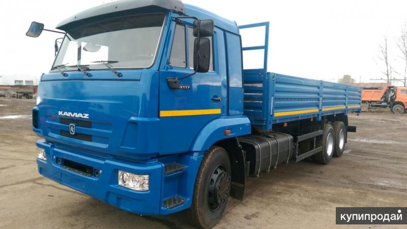 КАМАЗ 65117, бортовой, (2012г)