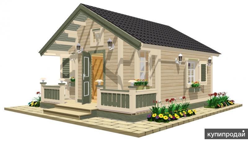 Стильные дачные домики