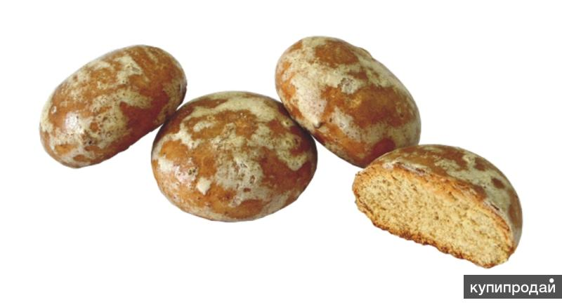Пряник Заварной в сахарной глазури 52 руб/кг ГОСТ
