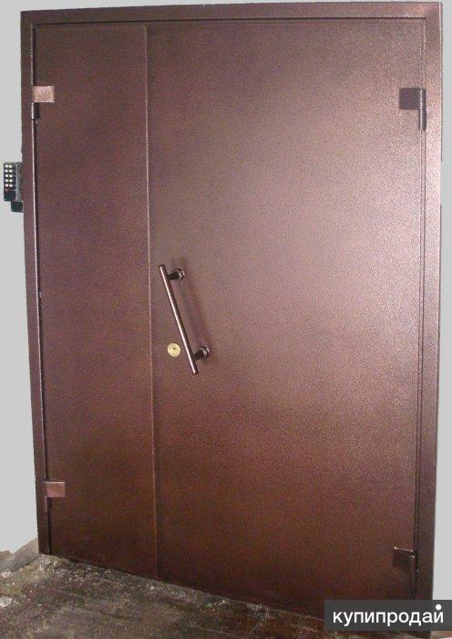 Двухстворчатая тамбурная дверь